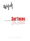 surfaces